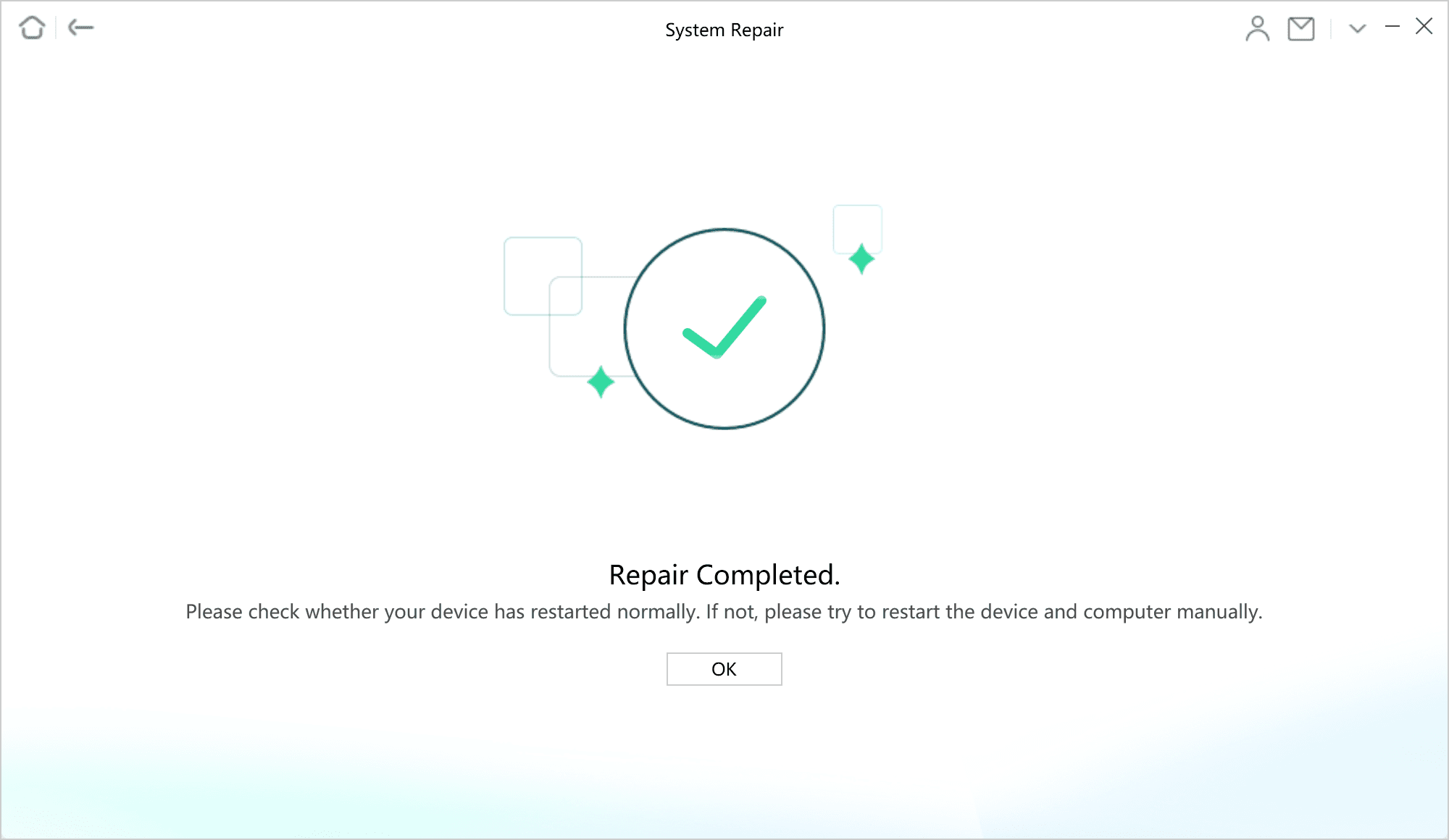 Successfully Repair iPhone Issue via AnyFix
