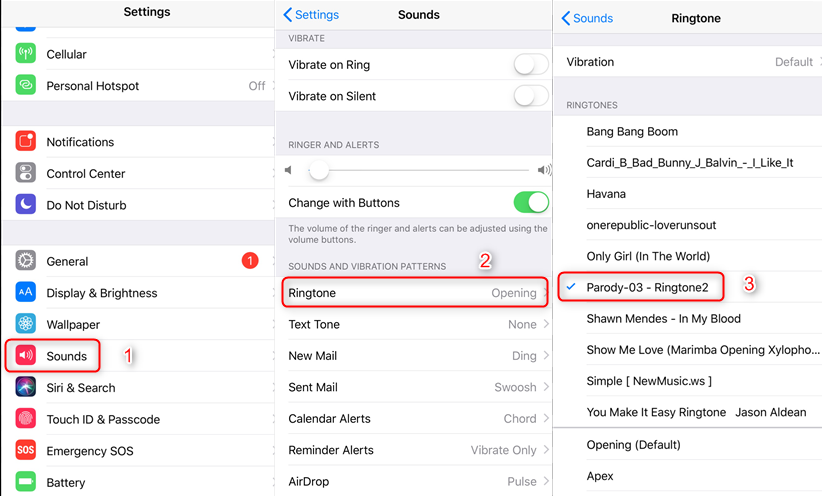 How to Set Converted File as iPhone Ringtone