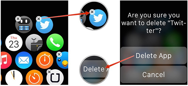 Delete Apps from Apple Watch