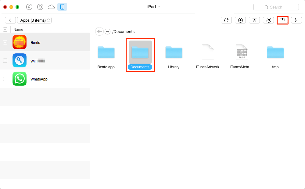 How to Transfer App Files from iPhone or iPad to Compter