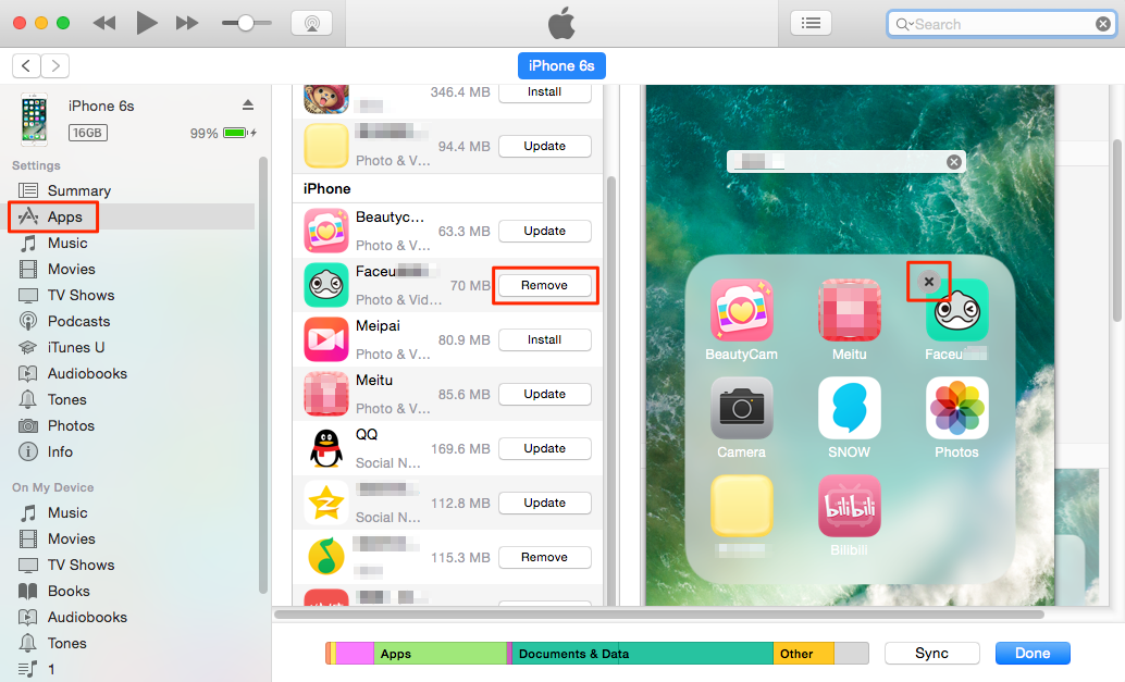 How to Delete Apps from iTunes 12