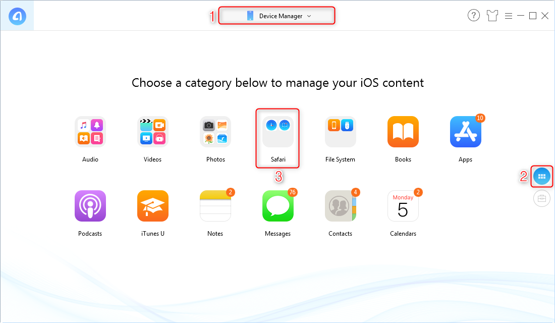 How to Delete Bookmarks on iPhone – Step 1