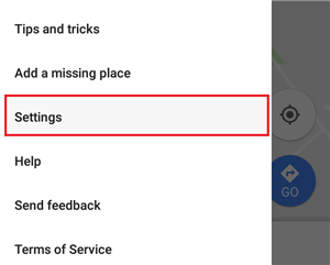 Delete your Google Location History on iPhone - Step 2