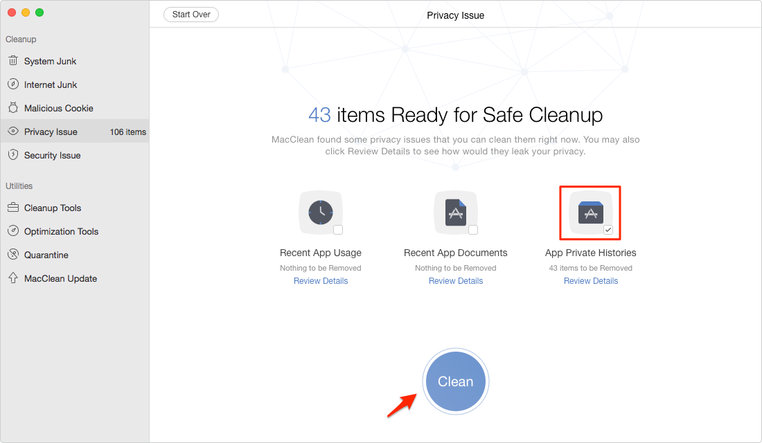 How to Delete iMessages on Mac Permanently – Step 4