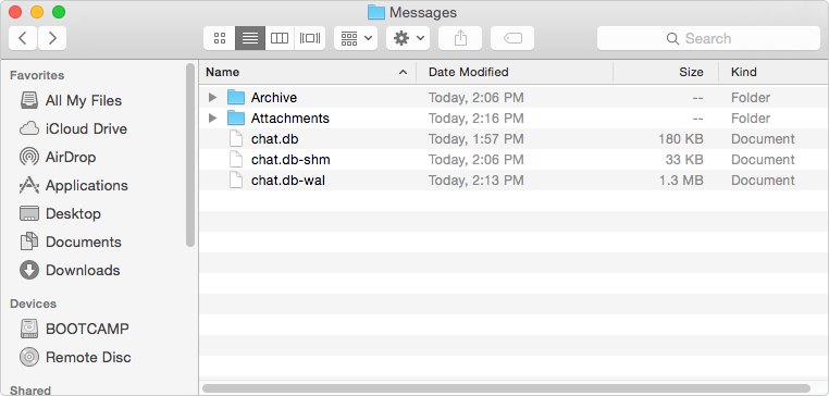 How to Delete iMessage History on Mac – Step 3