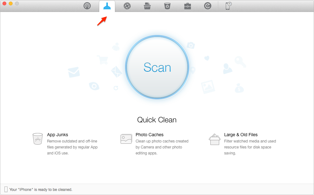 How to Delete Junk Files on an iPhone – Step 1