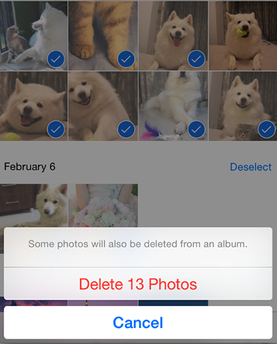 How to Delete Photos from iPhone Manually