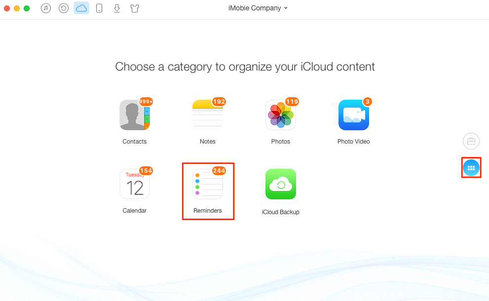 How to Delete iCloud Reminder List – Step 2