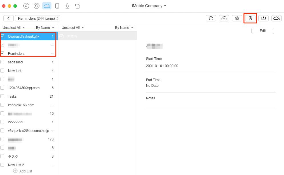How to iCloud Reminders – Step 3
