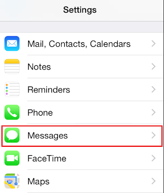 How to Deregister iMessage from iPhone - Step 1