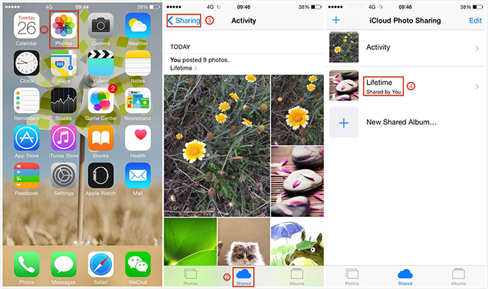 How to Disable Notifications for Shared Photo Stream on iOS