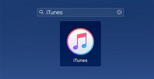 Open iTunes on Mac