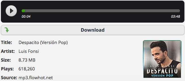 Despacito MP3 Download