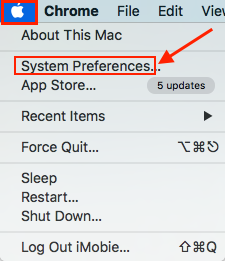 """How to Enable """"Type to Siri"""" in macOS High Sierra - Step 1"""