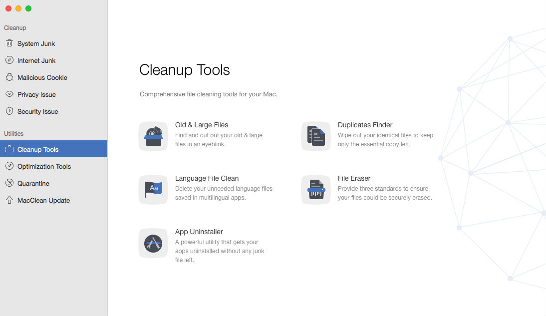 MacClean - Helps You Make Your Mac Run Faster