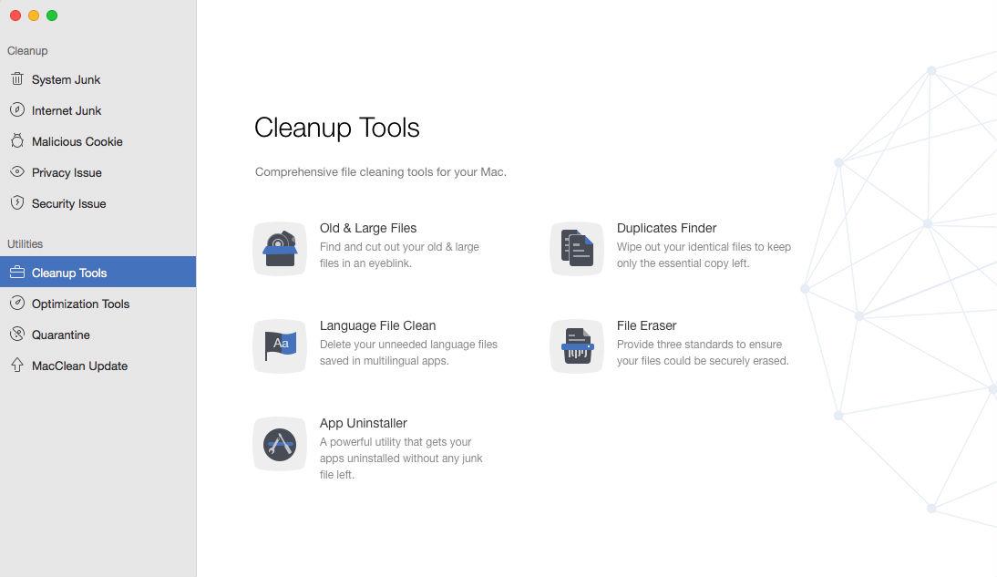 MacClean - Helps You Make Your Mac Run Faster