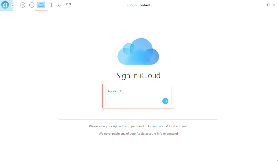 How to Export Contacts from iCloud to Computer - Step 2