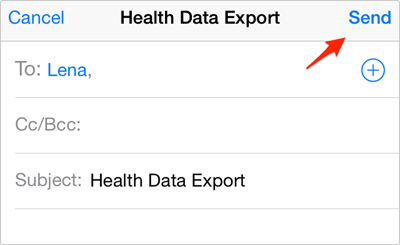 How to Export Health App Data on iPhone in iOS 9