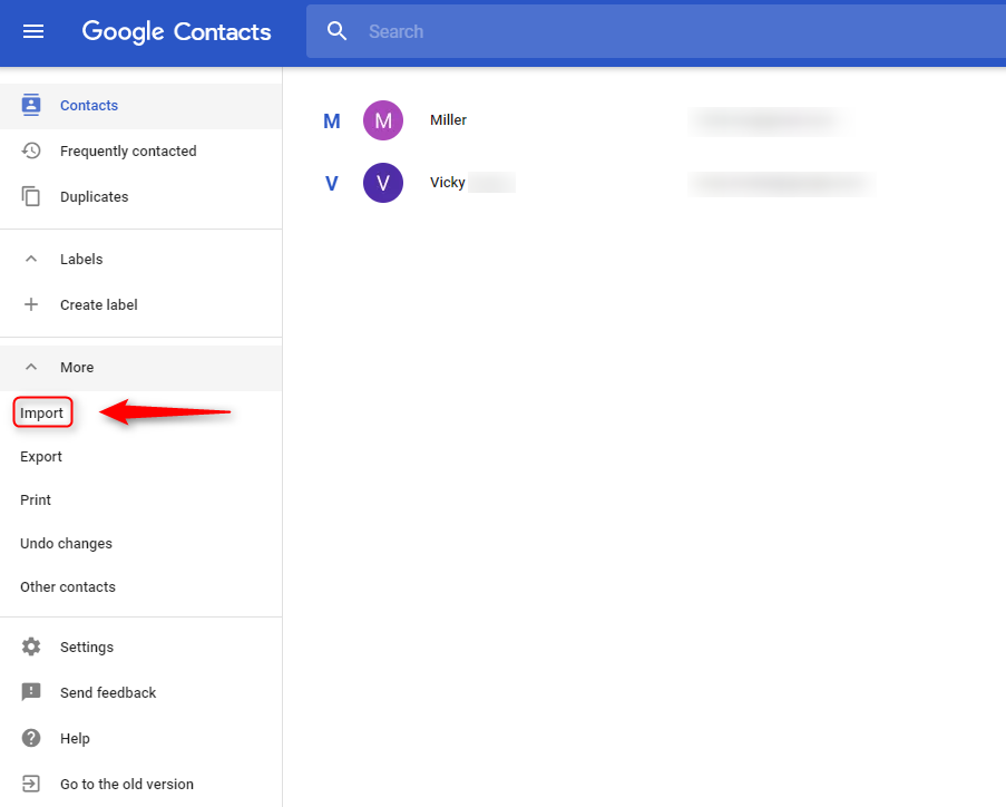 How to Export iCloud Contacts to Gmail - Step 4