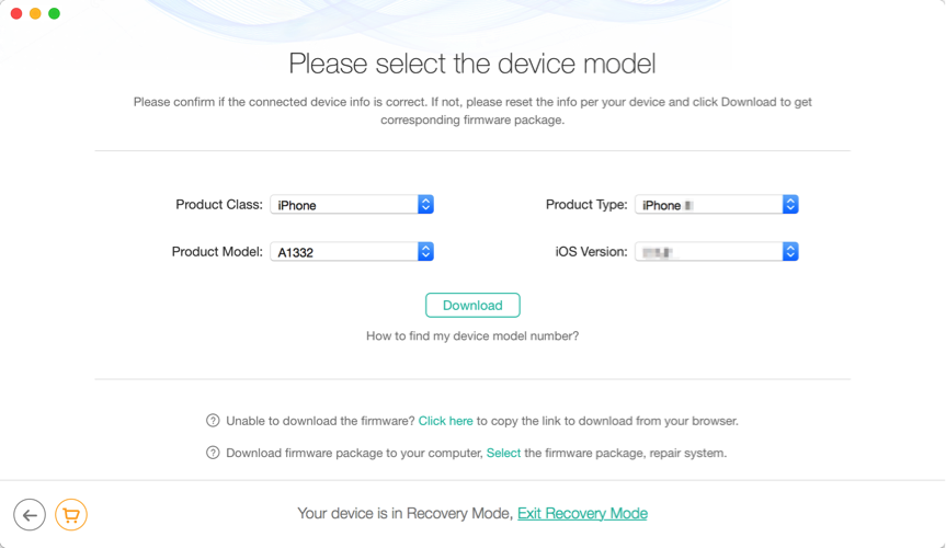 How to Factory Reset iPhone 8/8 Plus without iTunes – Step 4