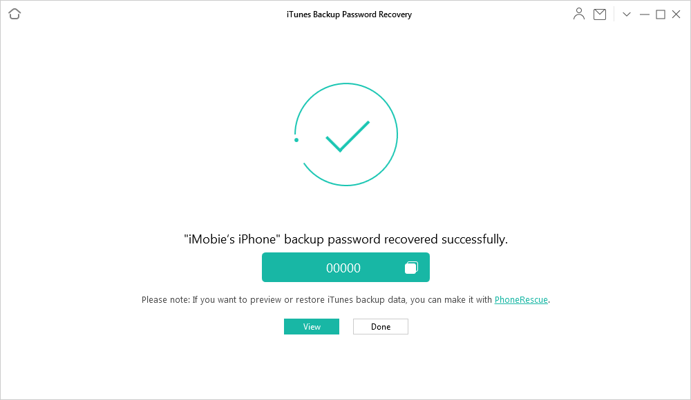 How to Find iPhone Backup Passcode via AnyUnlock