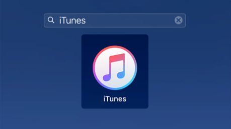 How to Change iTunes Library Location on Mac - Step 1