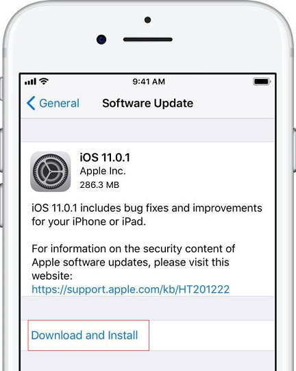 Fix Cannot Open Apps on iPhone iPad By - Update iPhone Software