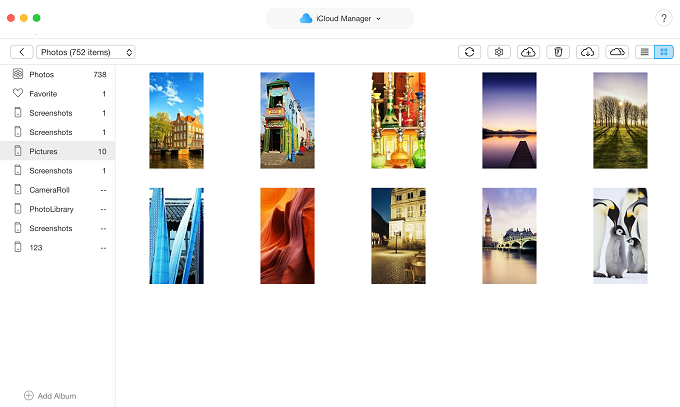 How to Download Photos from iCloud Photo Library – Step 3