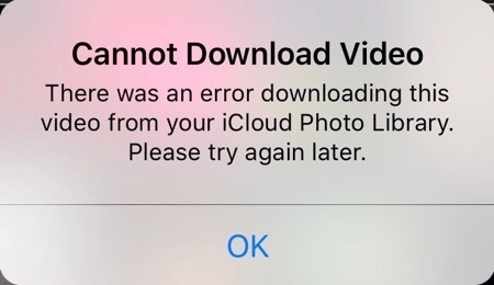 Solved] Fix: Error Downloading Photo from iCloud Photo Library