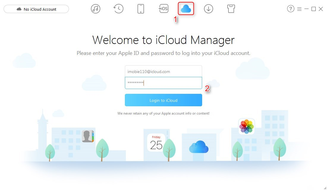 How to Download Photos from iCloud Photo Library - Step 1