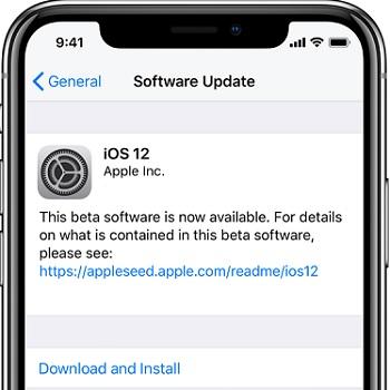 How to Fix iCloud Restore Not Working via Update iOS version