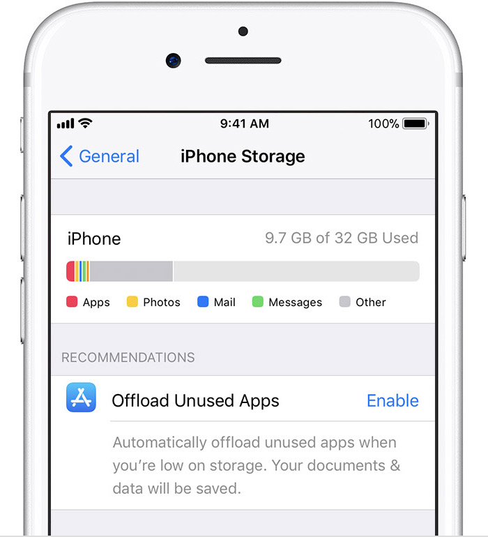 How to Fix: iCloud Restore Not Working via Check iDevice Storage