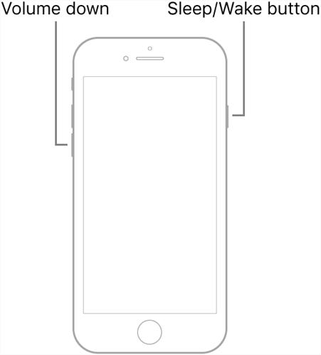 Reboot iPhone 7 Series