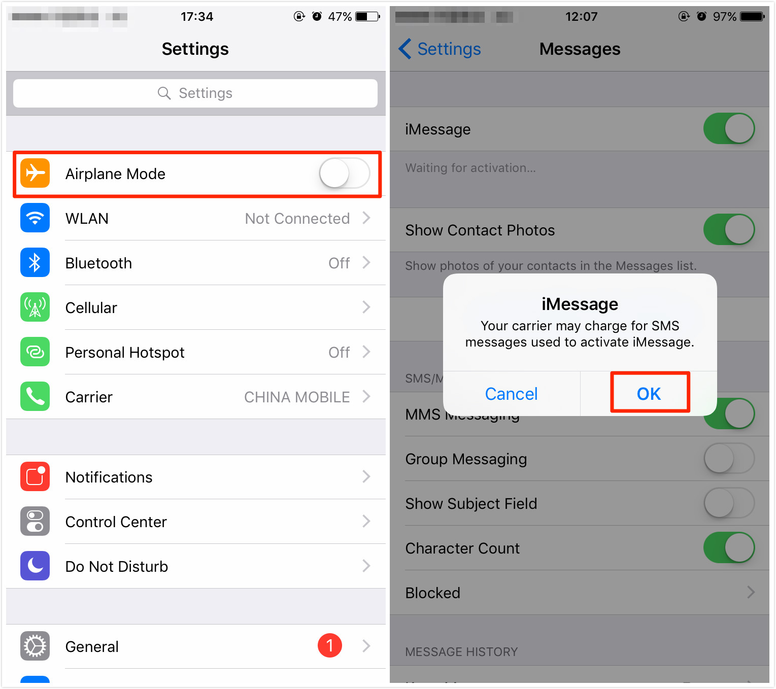 How to Fix iMessage