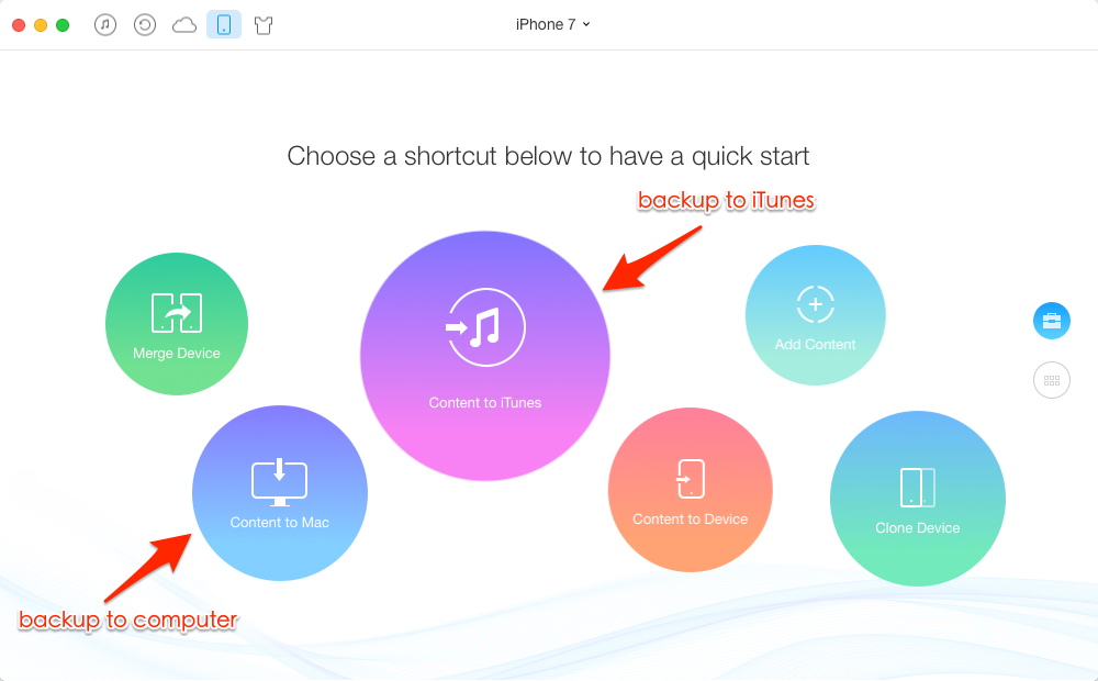 Alternative Way to Fix iPhone 7 Not Backing Up to iCloud Issue - AnyTans