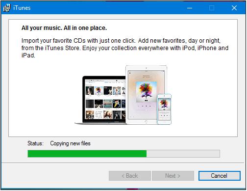 How to Fix iPhone DCIM Folder Empty on Windows 10/8/7 via Install iTunes