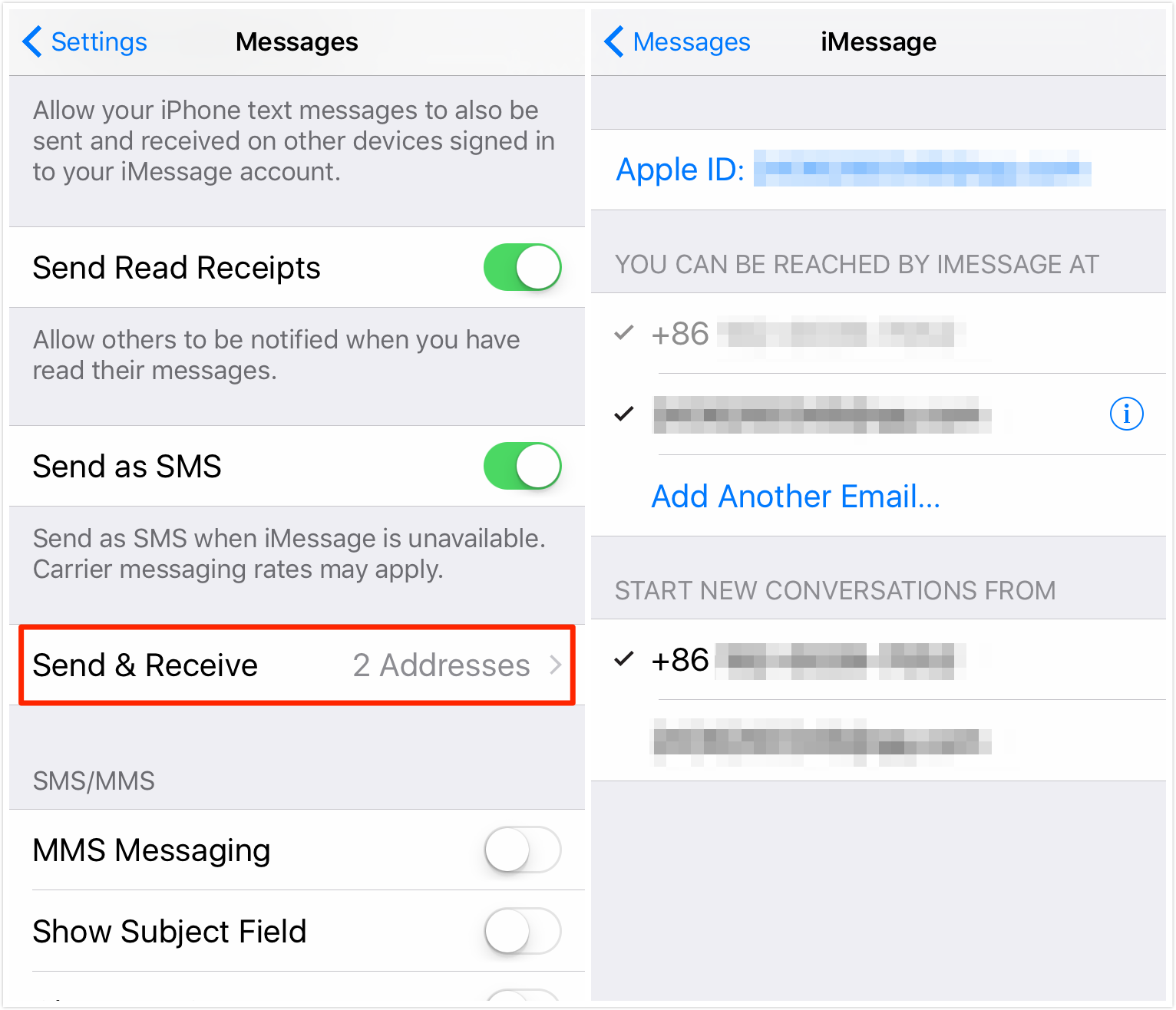 how to fix imessages not syncing with mac