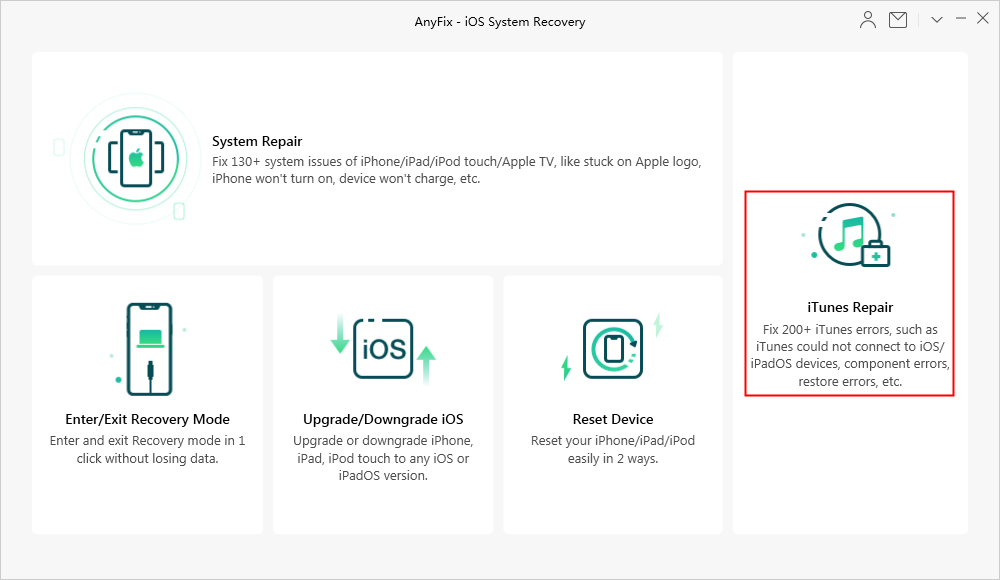 How to Fix iTunes Downloading Issues via AnyFix
