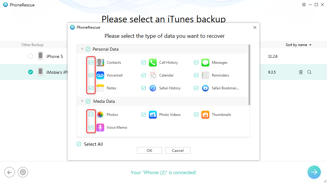 Solutions to iTunes Error 1611 - Step 3