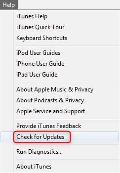 iTunes Error 1644 - Update on Windows