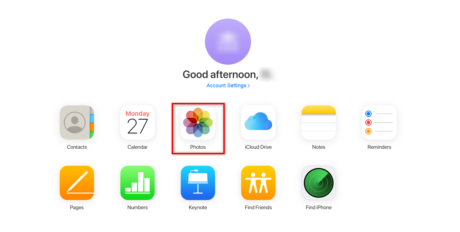 Recover Recently Deleted Photos from iCloud