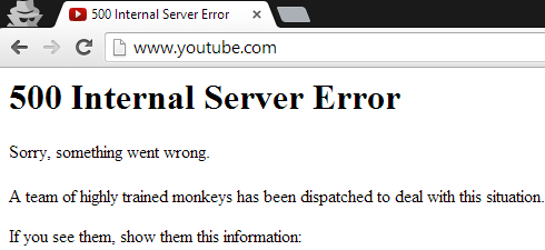 How to Fix YouTube Error 500