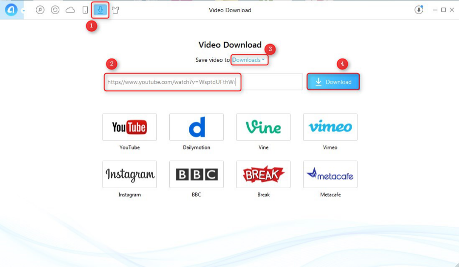 How to Download Videos from YouTube with AnyTrans