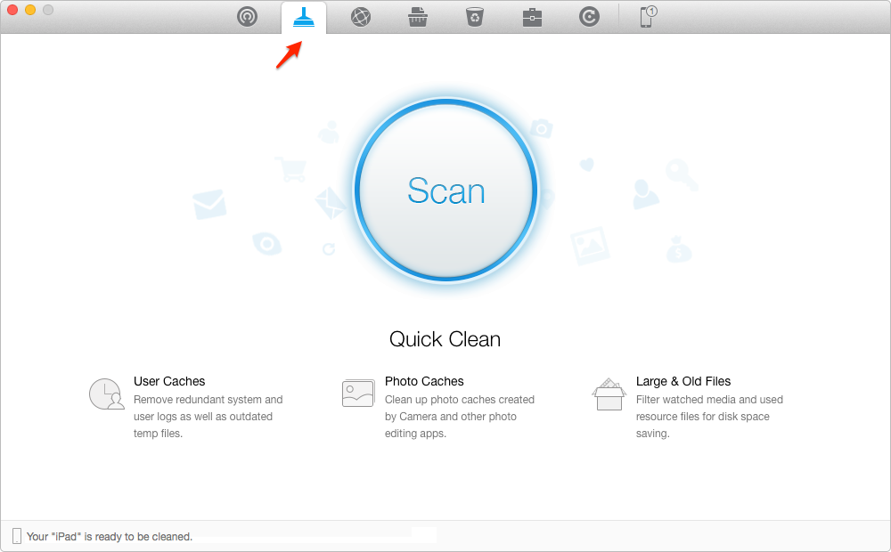 How to Free up Storage on iPad– Step 2