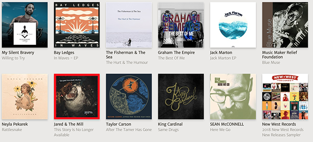 Download free music for iTunes from NoiseTrade