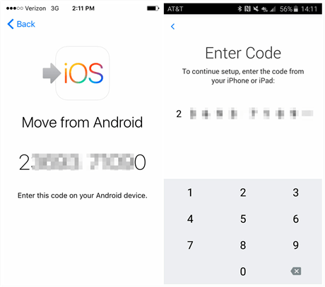 How to Get Move to iOS Code