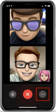 How to Group FaceTime on iOS 12 via Add Person - Step 1 Image Credit: Apple.com