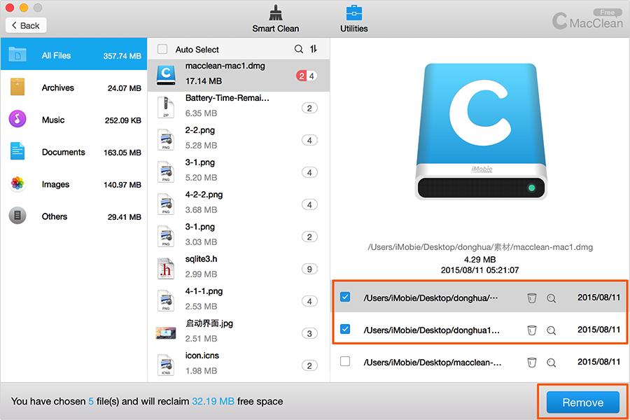 How to Hide Files and Folders on Mac – Deleting Unwanted Files - Step 2