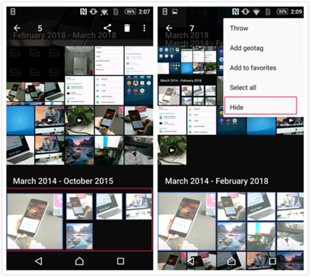 How to Hide Photos on Android - Step 2