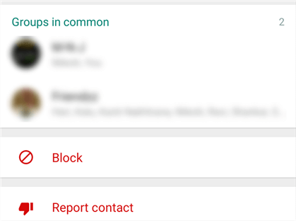 Block a User to Hide your Online Status